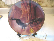Alaska Chiclkat Bald Eagle Preserve Decorative Plate Soaring Spirit