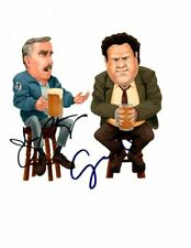 GEORGE WENDT & JOHN RATZENBERGER signed autographed CHEERS NORM & CLIFF photo