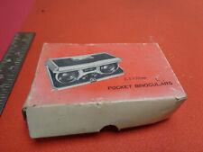 Vintage pocket binoculars Japan 2.5mm x 25mm U11Y2A