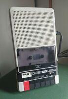 Vintage Radio Shack Cassette Tape Recorder CCR-81 Model 26-1208A