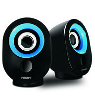 Philips SPA 50 Laptop/Desktop Speaker - Blue