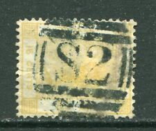 Old China Hong Kong QV 16c stamp with Swatow S2 Killer Chop Treaty Port  Pmk