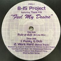 """B-15 Project – Feel My Desire Vinyl 12"""" Garage Single 1999 PROJ-1 - Free Post -"""