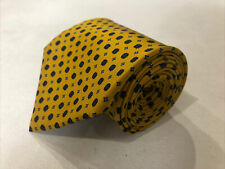 Etro Men's Yellow Geometric Silk Neck Tie $495