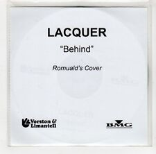 (GI914) Lacquer, Behind - 2003 DJ CD