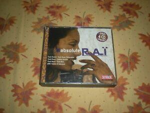 COFFRET 4 CD ABSOLUTE RAÏ 57 TITRES VIRGIN FRANCE 2001 COMPILATION