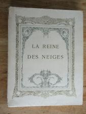 Hans Christian ANDERSDEN Contes Reine des Neiges SIGNÉ Edmond DULAC 1911