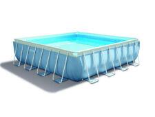 Intex 28764 Piscina fuori terra PVC gonfiabile Prism Frame quadrata 427x427