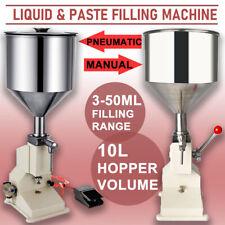 A03 5 50ml Liquid Paste Manual Filling Machine Low Dose Lotion Oil Filler A02