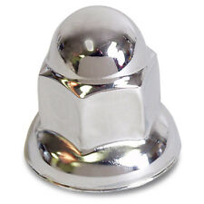 Nut Covers Chrome 33mm Acorn/Flare - 10 PACK