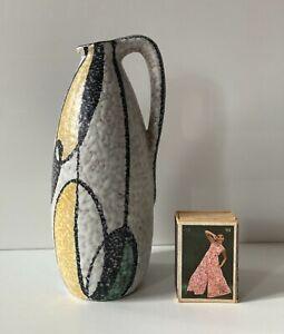 RUSCHA Dekor Milano Vase Keramik 50er 60er Form 314 WGP signiert