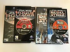 Star Wars Rogue Leader and Rebel Strike (Rogue Squadron II and III) for Gamecube