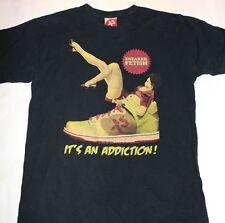 "NEU EXACT SCIENCE T-Shirt ""Sneaker Fetish"" Streetwear Street Art Funny Size M/L"