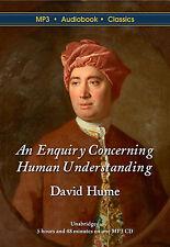 An Enquiry Concerning Human Understanding - Unabridged MP3 CD Audiobook DVD Case