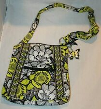 Vera Bradley CITRON Hipster Bag & Keyring Crossbody Purse plus Butterfly Charm