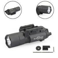 Tactical X300U 500Lumens LED Flashlight Fit 20mm Picatinny Rail Rifle Pistol Gun