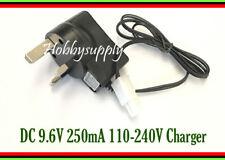 9.6V DC 250mA AC/DC 110- 220V 50/60Hz with Tamiya Plug on UK plug charger x 1