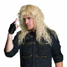 Rock Star Blonde Wig , Fancy Dress Costume Wig