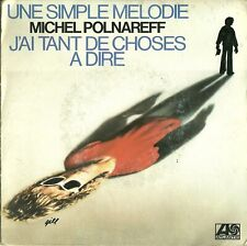 SP  MICHEL POLNAREFF  une simple melodie   1978
