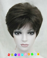 Ladies Short Wig Blonde Black Brown Wig Bob Natural hairFashion Wigs