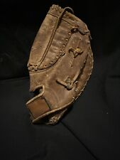 Spalding 42-4551 Leather First Baseman Baseball Glove Digger E-z Flex 12in RHT