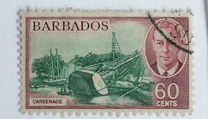 Barbados – 1950 – 60c – SG280 – Superb Used – Cat. £11 (R8)