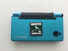 Nintendo DSi Blue Teal Bundle - Nintendogs Game And Case NO CHARGER/STYLUS