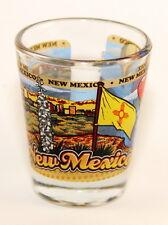 NEW MEXICO STATE WRAPAROUND SHOT GLASS SHOTGLASS