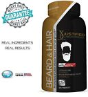 Beard Growth Supplement Vitamins Fuller Thicker Fast Facial Hair Growth 60 Count