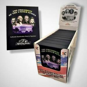 A Word from All of the Presidents of The United States Trading Cards 1x Mini Box