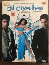 Dil Diya Hai - *Emran Hashmi *Ashmit Patel *Geeta Basra Bollywood DVD
