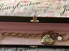 Juicy Couture Royal Crown Locket Charm Bracelet