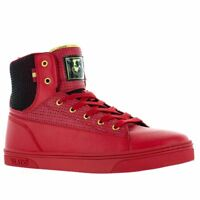 Vlado Footwear Men's Jazz High Top Shoes Red/Black IG-8100-5