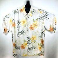 Tori Richard Mens Hawaiian Aloha Shirt Large Floral