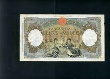 Italy 1000 1,000 lire 1942 P63 - VF