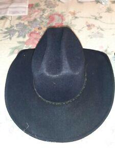 pigalle black cowboy hat