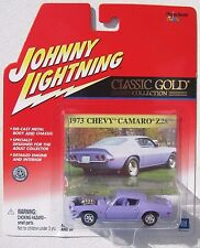 JOHNNY LIGHTNING R12 CLASSIC GOLD 1973 CHEVY CAMARO Z28 Rubber Tires