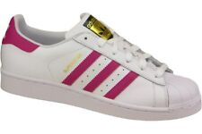b2b16bfd375f adidas Superstar Foundation J Shoes White Pink B23644 Retro Sneaker Dragon  UK 4