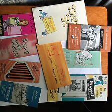 1940's 1950's Advertising Appliance Paper Lot