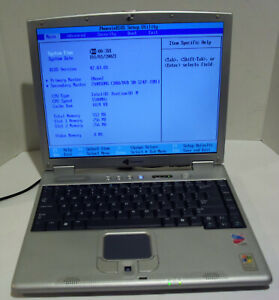 Gateway 200ARC 14.1'' Notebook (Intel Pentium M 1.5GHz 512MB NO HDD)
