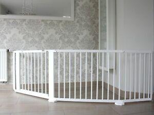und Au/ßen 0-140cm Extra Hoch T/ürschutzgitter Ausziehbar Doublez Treppenschutzgitter Schutzgitter Treppe f/ür Hund /& Babys Absperrgitter Treppengitter zum klemmenf/ür Den Innen