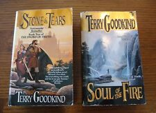 Terry Goodkind - Sword of Truth series - Stone of Tears/Soul of the Fire - 2 PB
