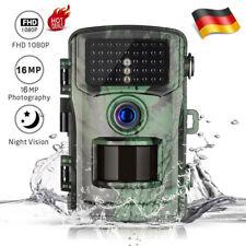 Wildkamera Überwachungskamera FHD 1080P 16MP Jagdkamera Fotofalle PIR Nachtsicht