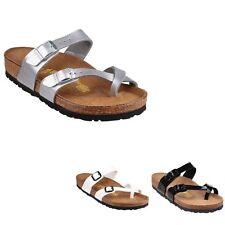 "Birkenstock Women's Flat (less than 0.5"") Slip On, Mules Shoes"