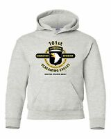 """101ST AIRBORNE DIVISION """" SCREAMING EAGLES """" BATTLE & CAMPAIGN HOODIE W/POCKETS"""