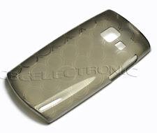 New Smoke Black TPU Gel skin silicone case back cover for Nokia x201 X2-01