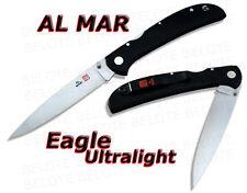 Al Mar EAGLE ULTRALIGHT Micarta Plain Edge 1005UBK2 NEW