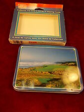 PAIR OF NOS 1999 HOYTE PLAYING CARDS, CARTES A JOUER OREGON #6, HAWAII #9 GOLF