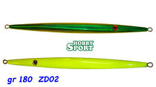 ZERO DROPPER ZD02 VERDE-ORO RIVER2 SEA - 180 GR - VERTICAL JIG