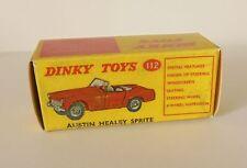 Repro box Dinky nº 112 austin healey Sprite